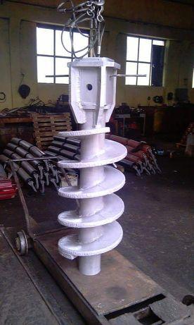 Изработка на сондажен шнек