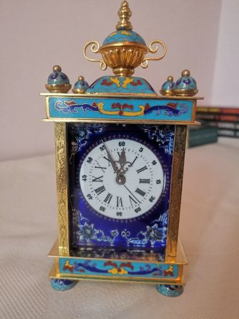 pendula,ceas de semineu,elvetian,15 rubine, IMHOF,cu sonerie, garantie