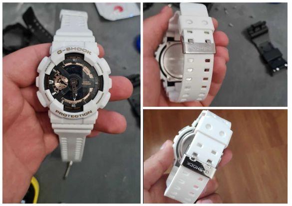 Casio G-shock Безел и верижка, каишка за часовник