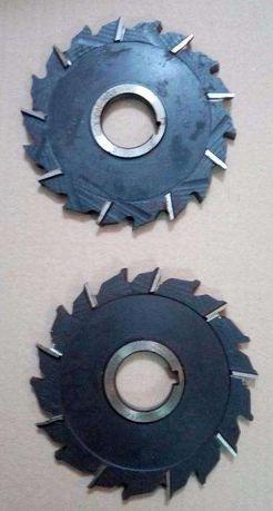 Freza disc 3 taisuri de la Ø 30 pana la 250, dinti drepti sau zig-zag