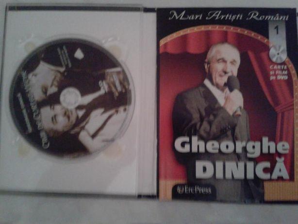 DVD Carte si film Gheorghe Dinica- Mari artisti romani (nr.1) Erc Pres
