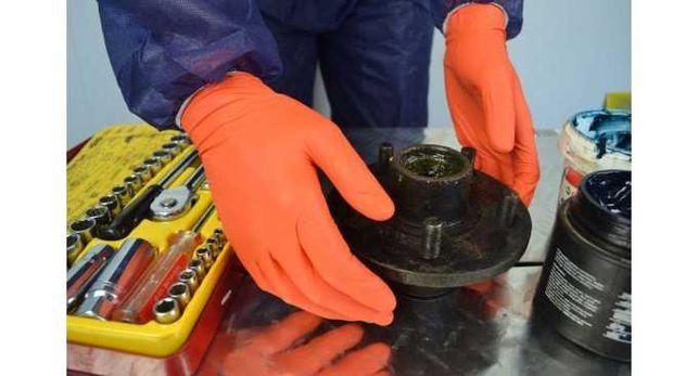Manusi nitril negre.Rezistente.100buc/cut-L+XL+tva