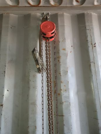Таль Лебёдка цепная 5-12 тонн