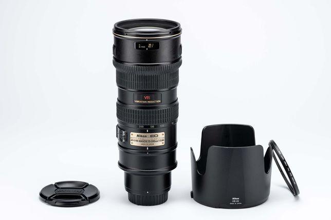 Vand Nikon AF-S 70-200 G ED VR (aka VR1)