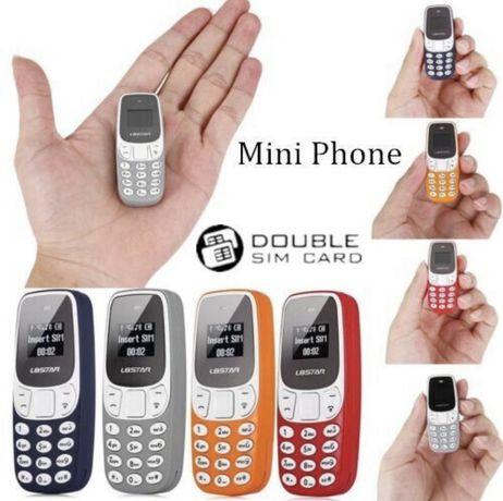 Cel mai mic telefon DUAL SIM 3 Voci Neverlock L8STAR BM10 sau BM90 NOU