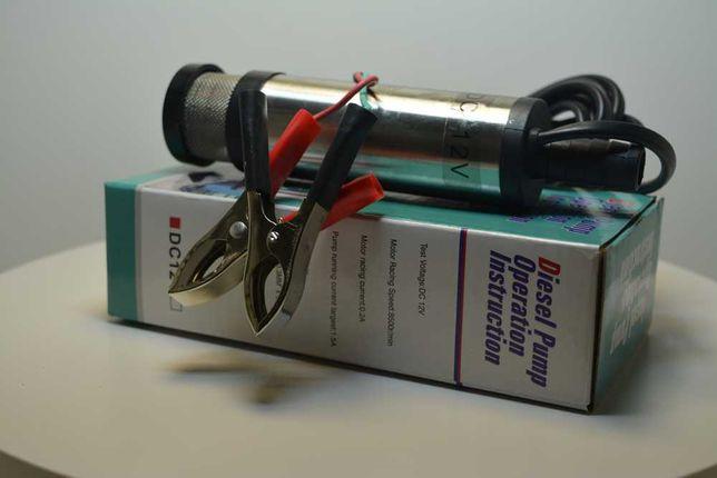 Mini pompa transfer motorina si ulei 12V 60W 15L/min