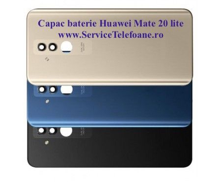 Capac spate Huawei Mate 20 lite original swap Bucuresti - imagine 1