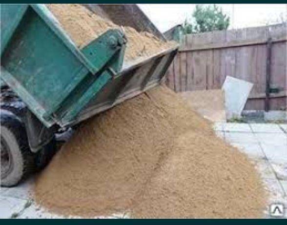 Песок/балласт с доставкой