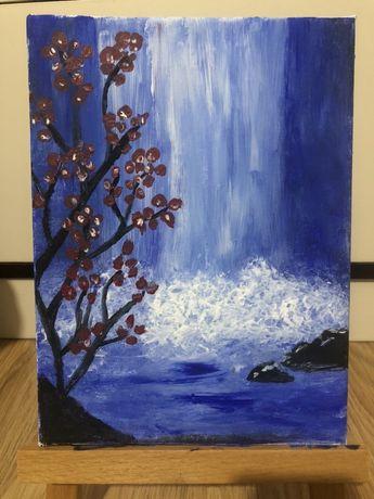 """Картина акрил """"Водопад"""""""