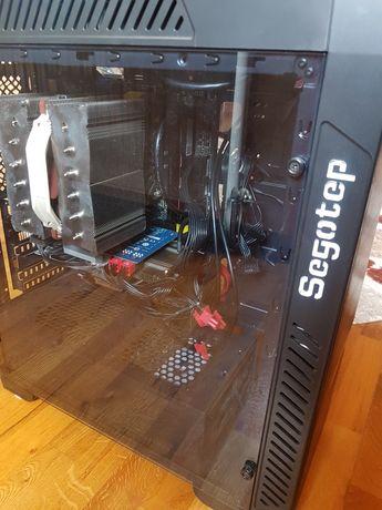 I7 5820k msi x99A LGA 2011 v3  12 Gb Ddr4 sistem complet