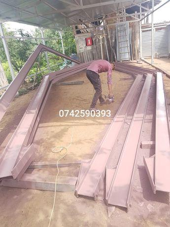 Vând hala metalică 14,5mx30h5mipe 240