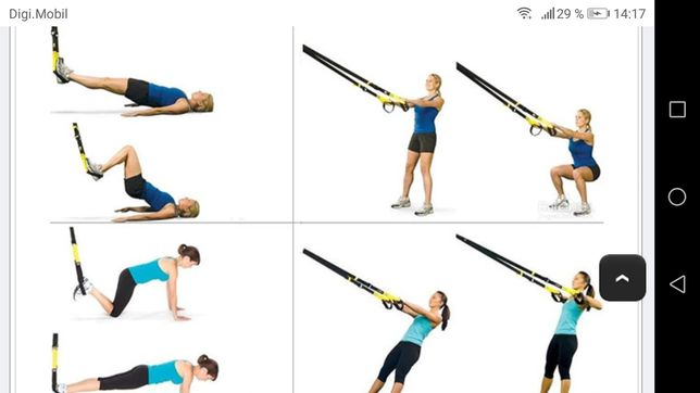 Sistem corzi fitness  gen trx