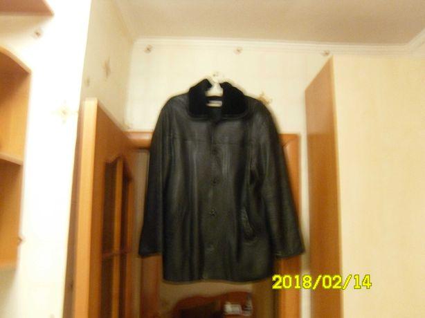 куртка мужская кожаная демисезонная,