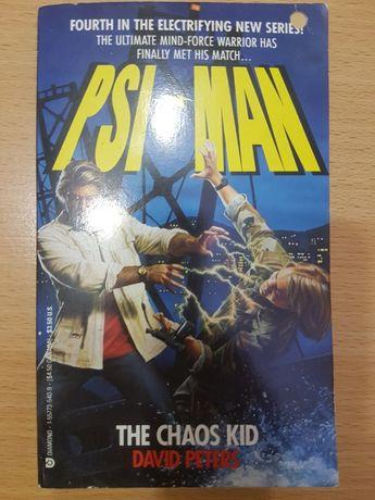 Carti engleza David Peters - The Chaos Kid - PSI MAN