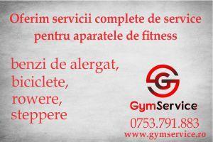 Service / Reparatii aparate fitness la domiciliu