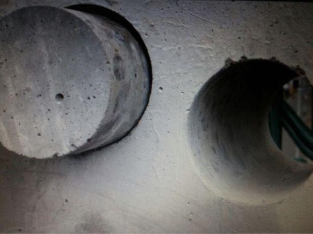 Алмазное сверления, бурение, демонтаж бетона для систем вентиляции