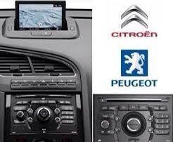 *2021*Навигационен Диск, SD карта +камери PEUGEOT CITROEN Пежо Ситроен