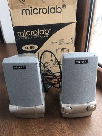 Компьютерные колонки microlab