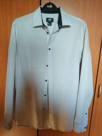 Cămașă H&M albă superbă marime S