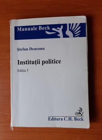 Instituții politice - Ștefan Deaconu