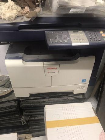 Toshiba 3в1 копирна машина