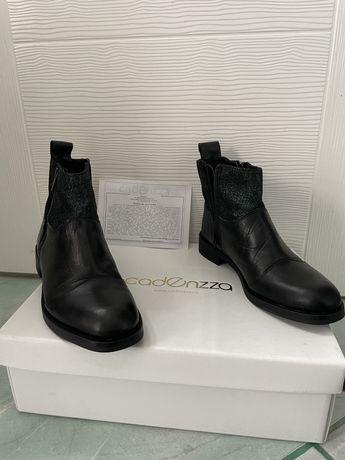 Botine cizme piele Cadenzza