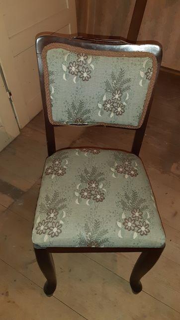 Set 4 scaune vintage, tapițate