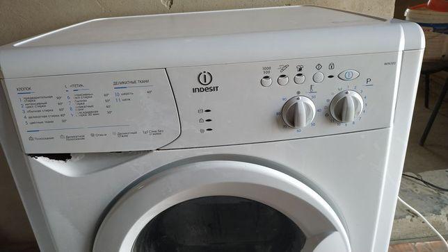 продается стиральная машина не рабочем состоянии автомат indesit