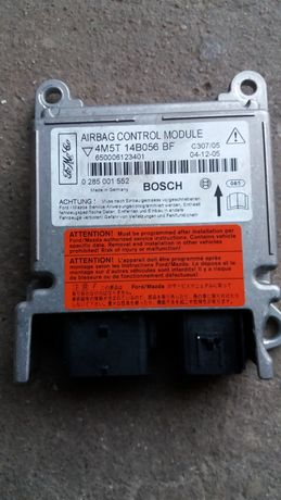 calculator airbag 4M5T 14B056 BF ford focus 2
