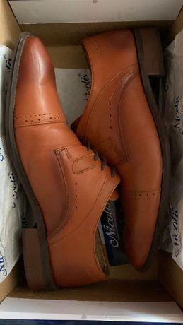 Pantofi din piele naturala barbati
