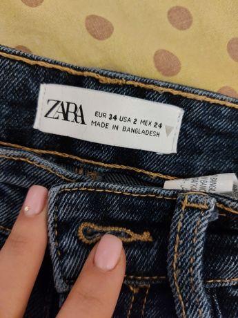 Продам джинсы Zara новые 34 размер