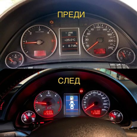 Audi s4 b7  циферблати