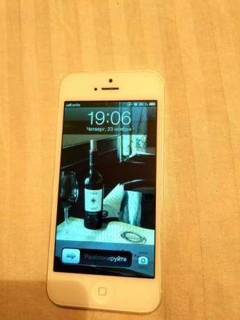 iPhone 5, iOS6, 16 gb, в идеальном состоянии.