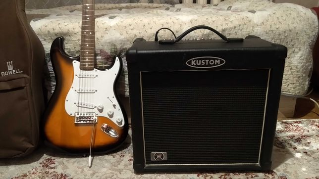 Продам электрогитару Stratocaster