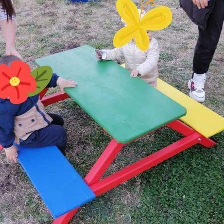 Детска маса от дърво