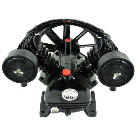 Cap compresor 2 pistoane 4kW 600L/min KraftProfesional KD1404