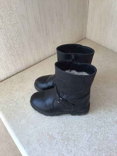 сапоги зимние для девочки размер28