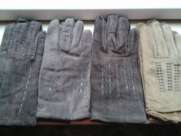 продавам велурени ръкавици