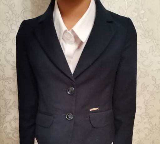 Школьный пиджак GLASMAN 2 шт на девочек 7, 8 лет