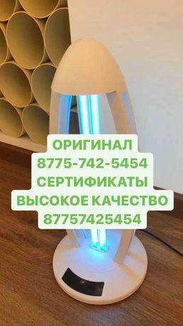 Бактерицидная кварцевая ультрафиолетовая лампа