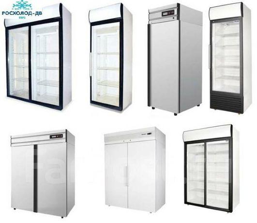 Холодильные и Морозильные шкафы с глухой дверью