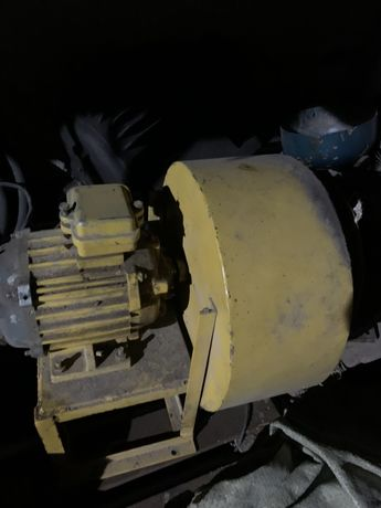 Вентиллятор с улиткой