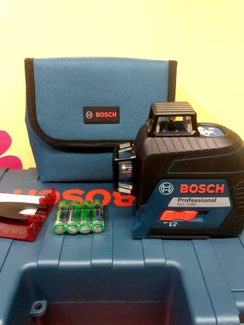 Нов лазерен нивелир Bosch GLL 3-80