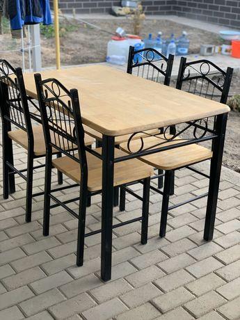 Стол и стулья комплект п/во Малайзия