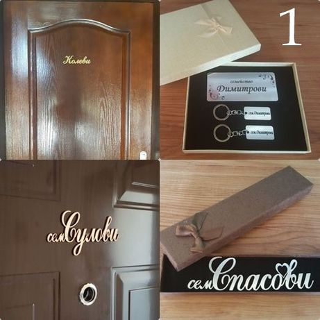 Табелки за врата