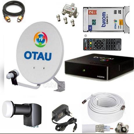Отаут тв комплект спутниковое телевидение в Шымкенте otau tv установка