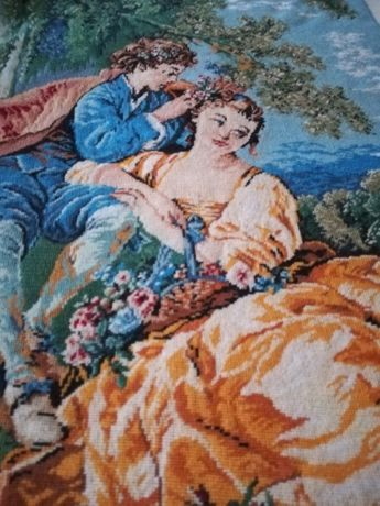 Goblen Pastorala pictor Boucher