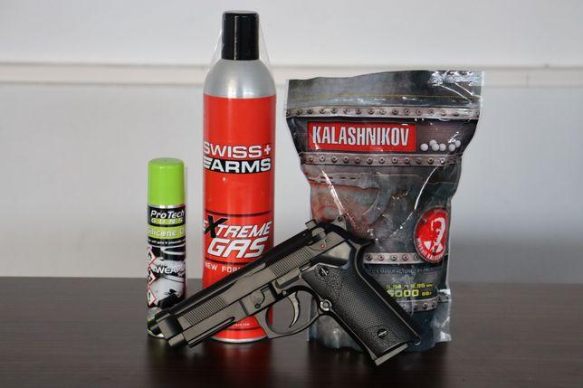 Pistol airsoft cu aer comprimat XTREME GAZ !