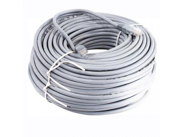 Патчкорд (сетевой кабель) 50 метров новый в упаковке.
