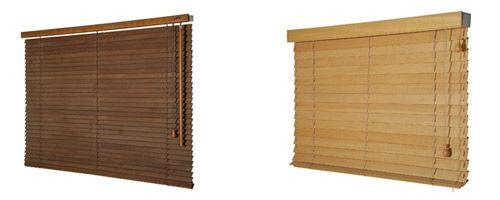 Дървени щори